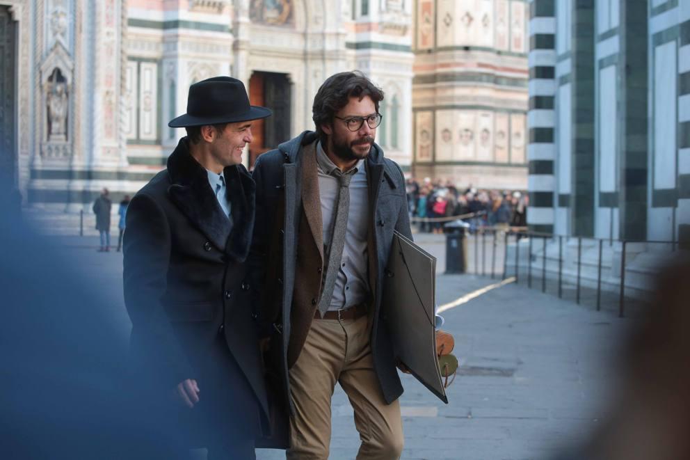 La Casa Di Carta 3 Ciak A Firenze Il Professore E