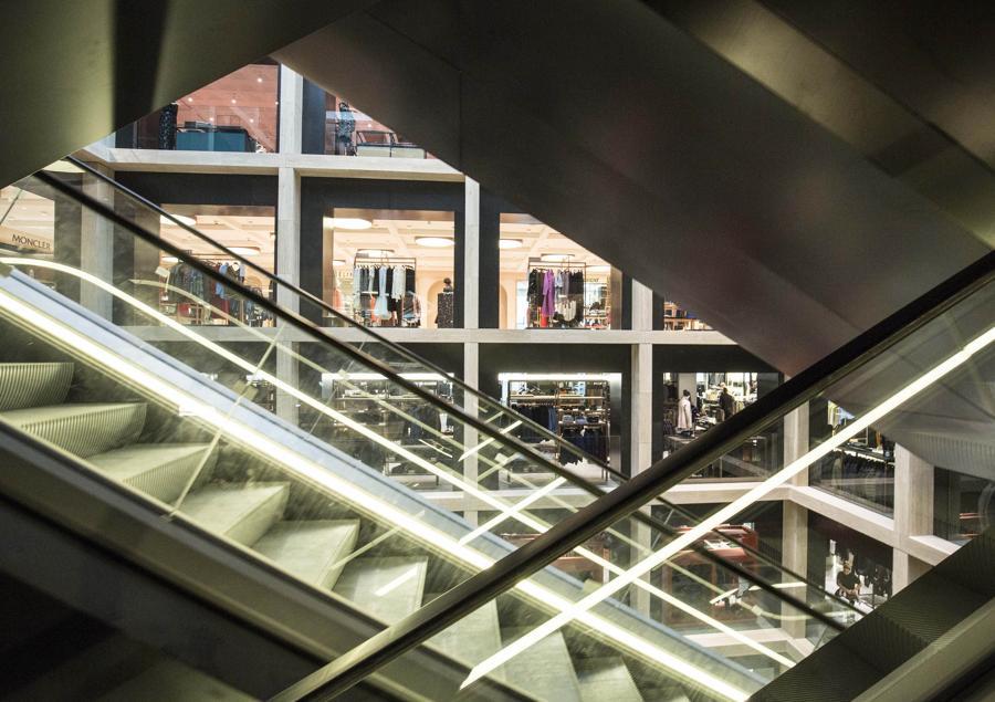 Ecco la nuova Rinascente il mall di lusso 8 piani con vista  Corriereit