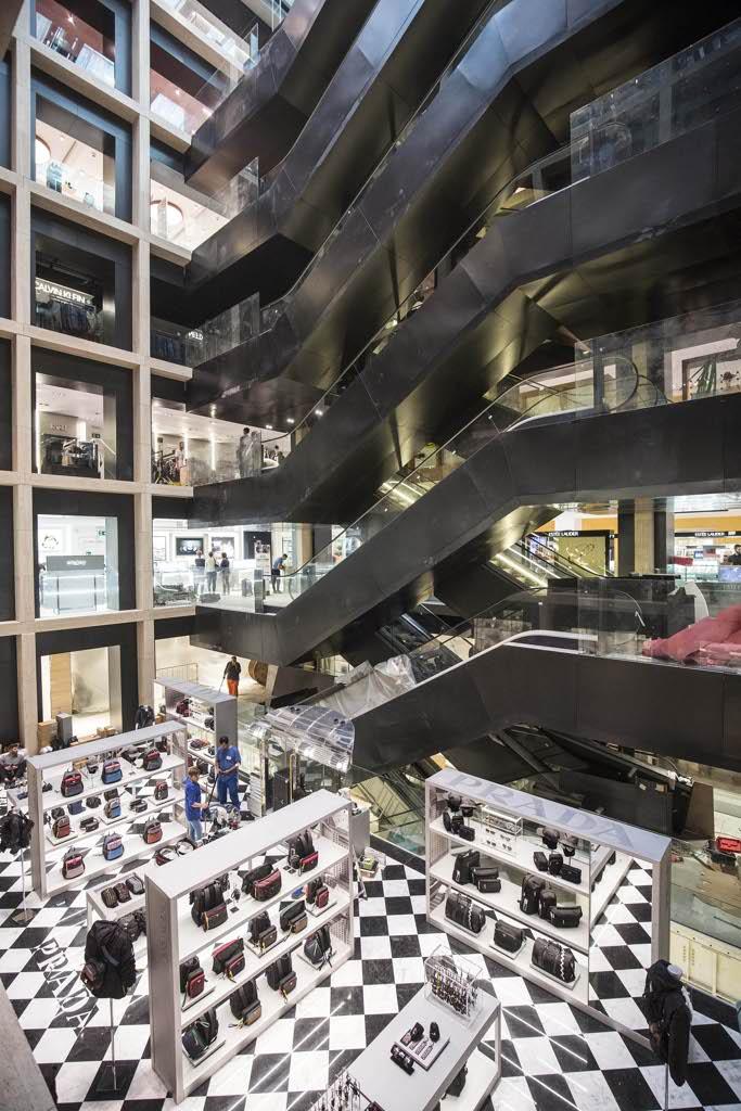 Ecco la nuova Rinascente il mall di lusso 8 piani con