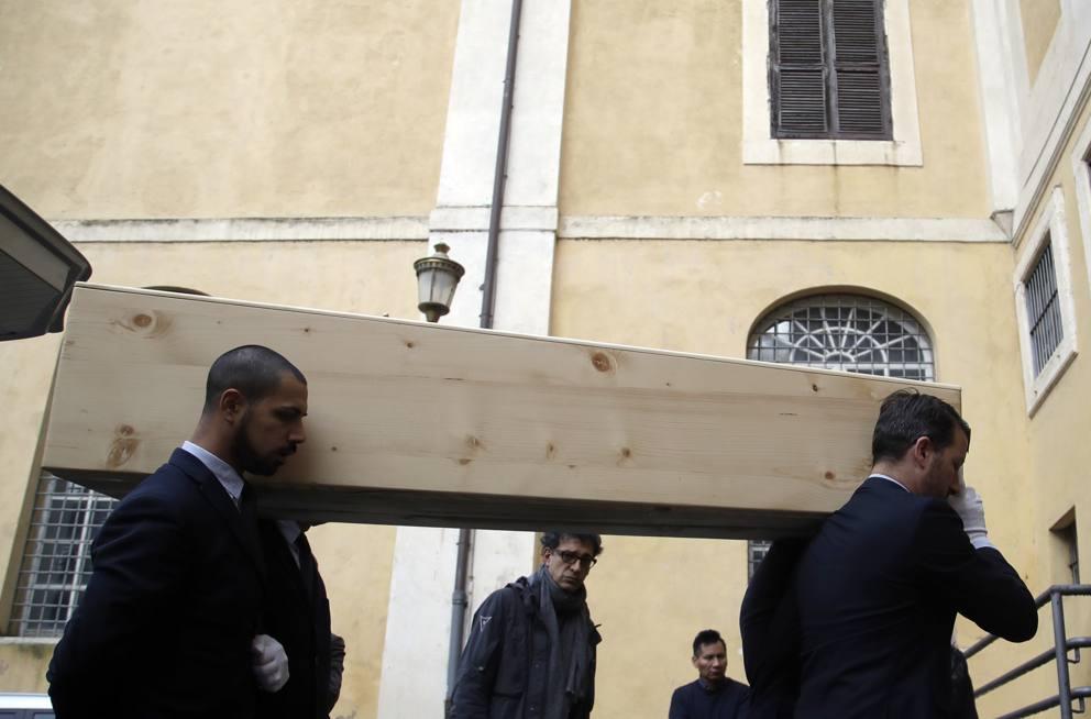 Bernardo Bertolucci la camera ardente in Campidoglio  Foto  Corriereit