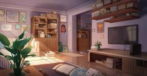 anime pixiv background japanese japan wall wallpapers indoor desktop