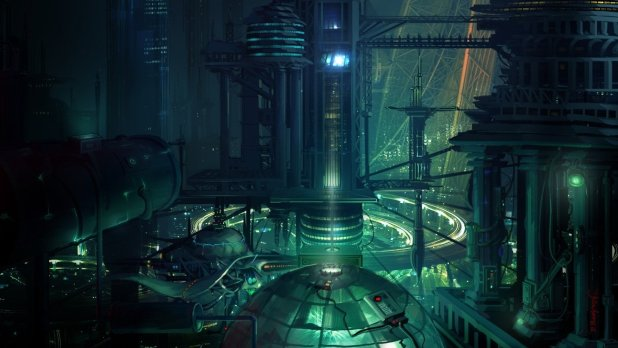 44 Futuristic City Hd Wallpapers Backgrounds Wallpaper Abyss