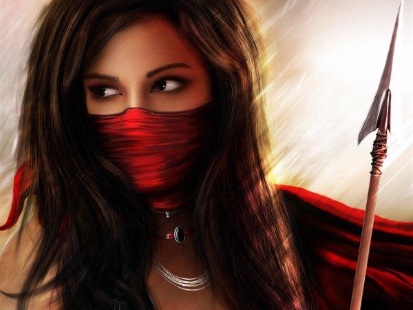 Female Wallpaper Warrior Girl