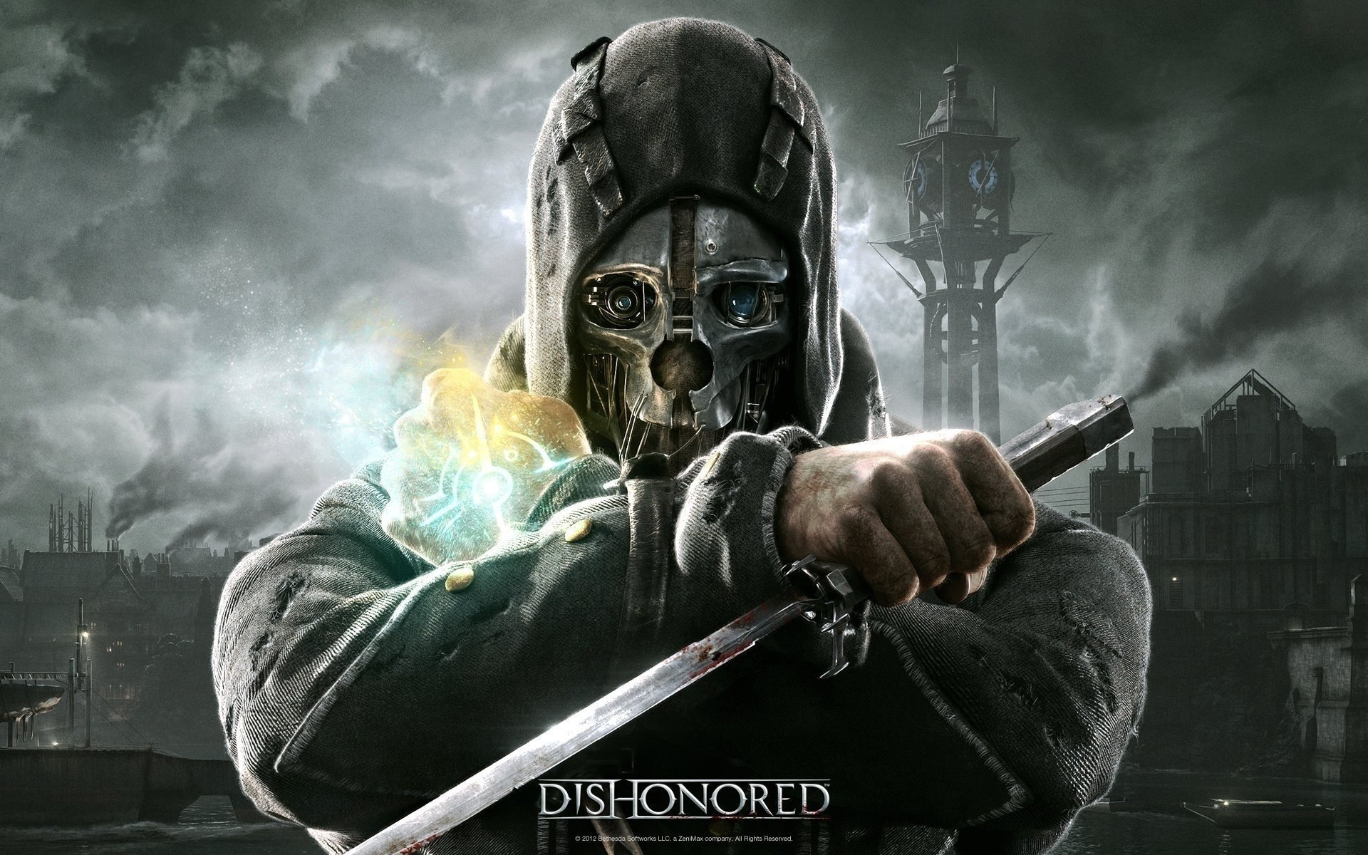 Wallpaper Iphone Galaxy Dishonored Hd Wallpaper Background Image 1920x1200