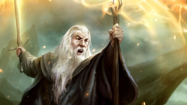 Lord of the Rings Wizard Gandalf Art