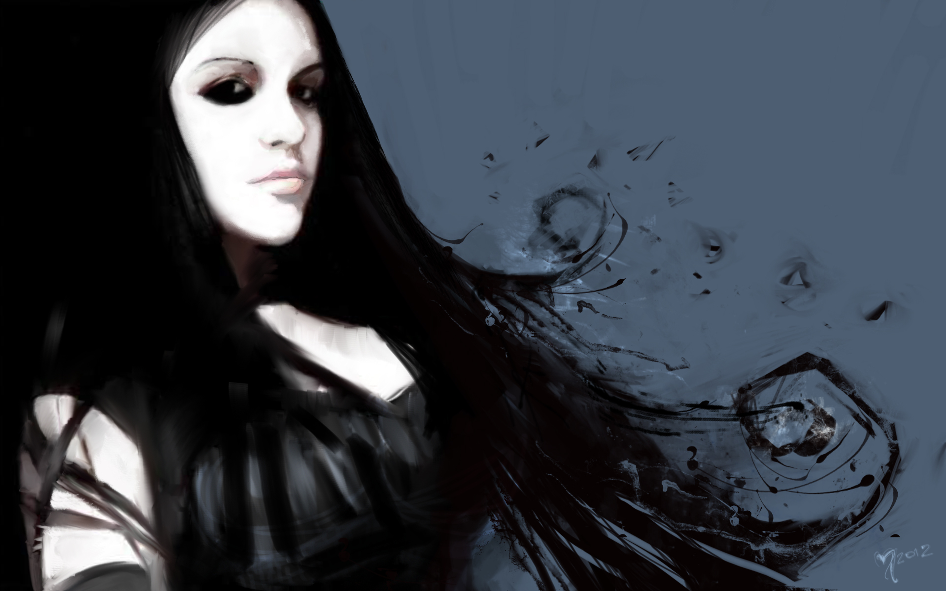 Goth Girl Wallpaper 1440x2960 Kyrene 1920x1200 Full Hd Wallpaper And Background Image