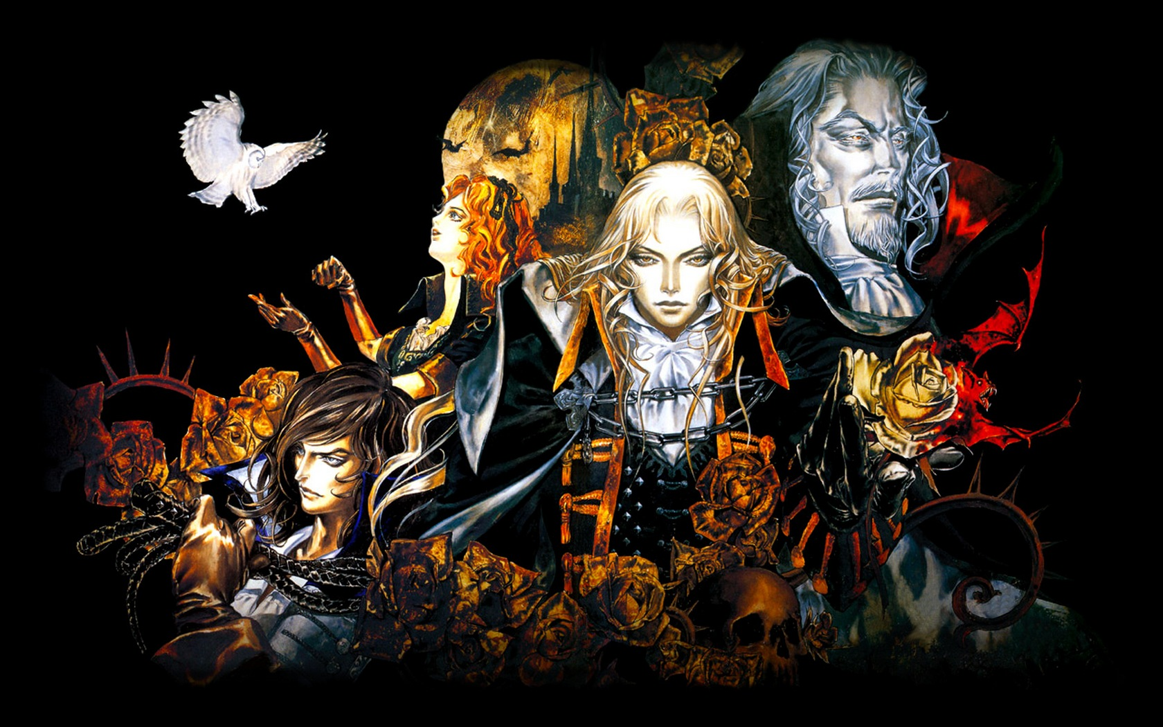 Symphony X Iphone Wallpaper Castlevania Wallpaper And Background Image 1680x1050