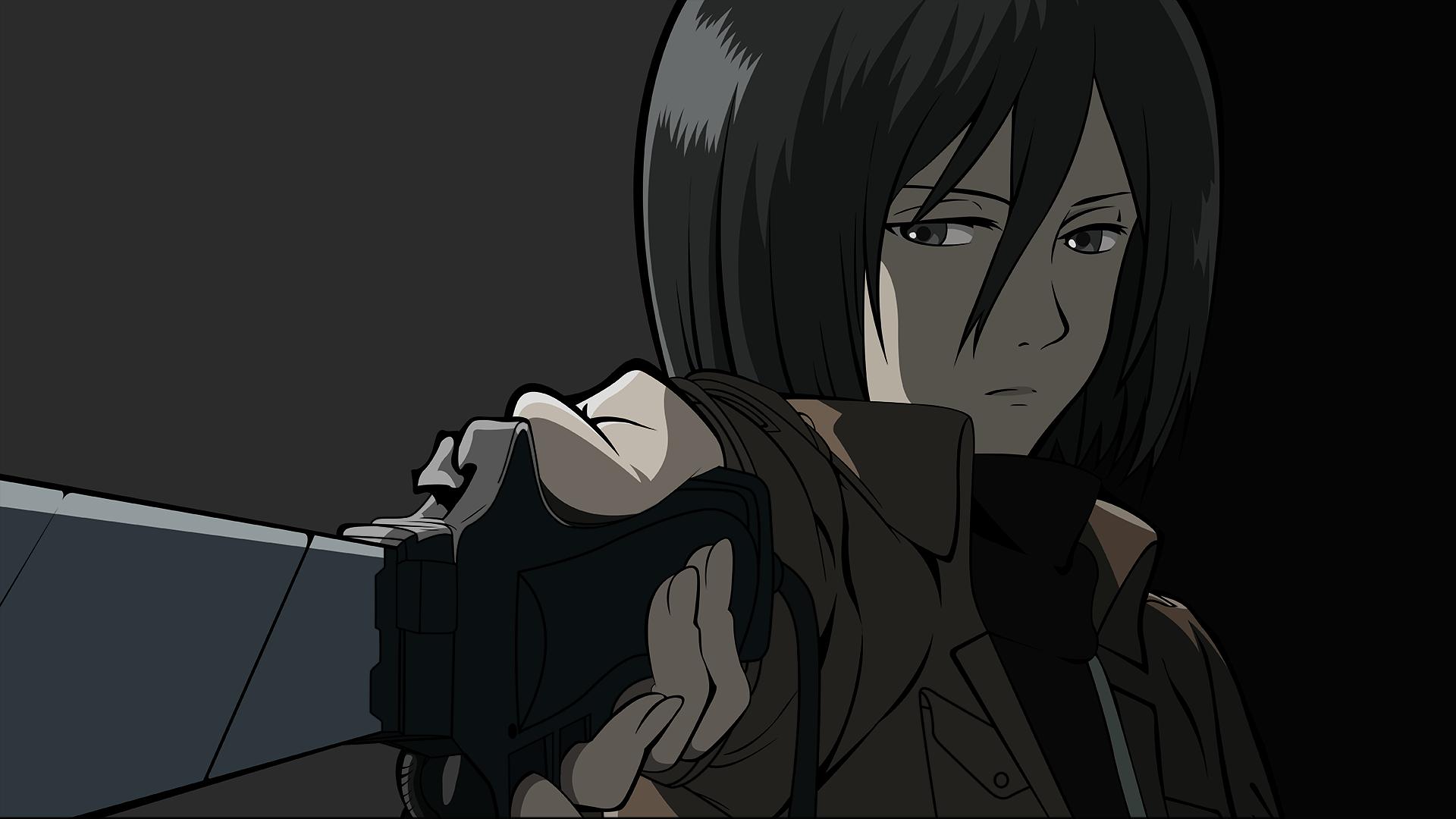 Al parecer, los capítulos filtrados del capítulo final de shingeki no kyojin cambian el destino de mikasa (foto: Anime Attack On Titan Mikasa Ackerman Sfondo