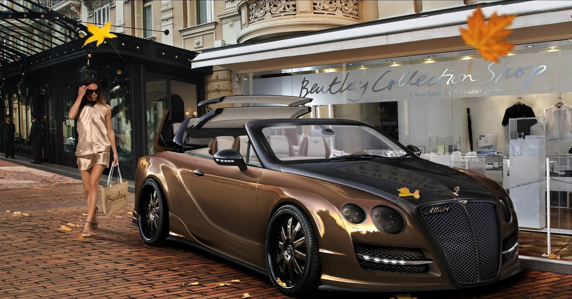 Mustang Wallpaper Iphone X Bentley Continental Gt Convertible Full Hd Wallpaper And