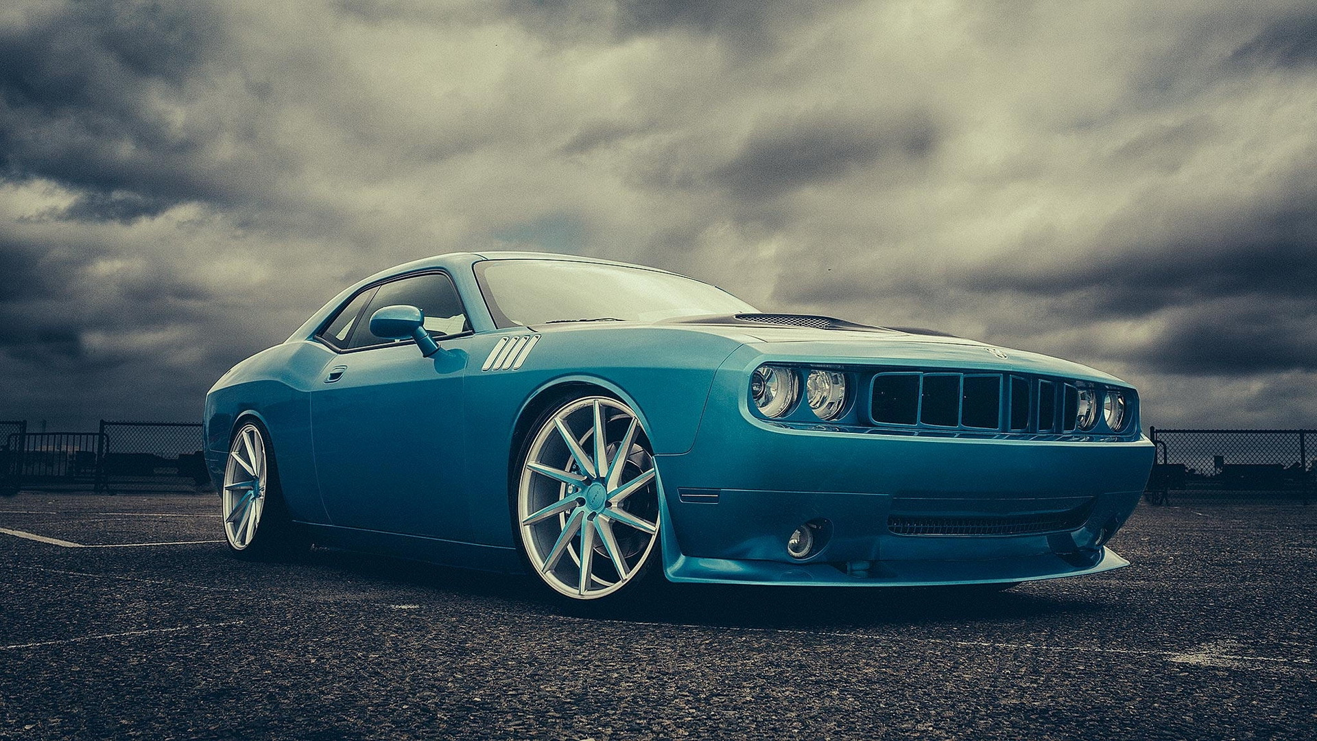 Classic Muscle Car Wallpapers Hd 1680x1050 Dodge Challenger Hd Wallpaper Background Image