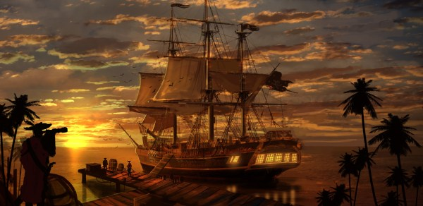 Pirate Ship Hd Wallpapers Backgrounds - Wallpaper Abyss