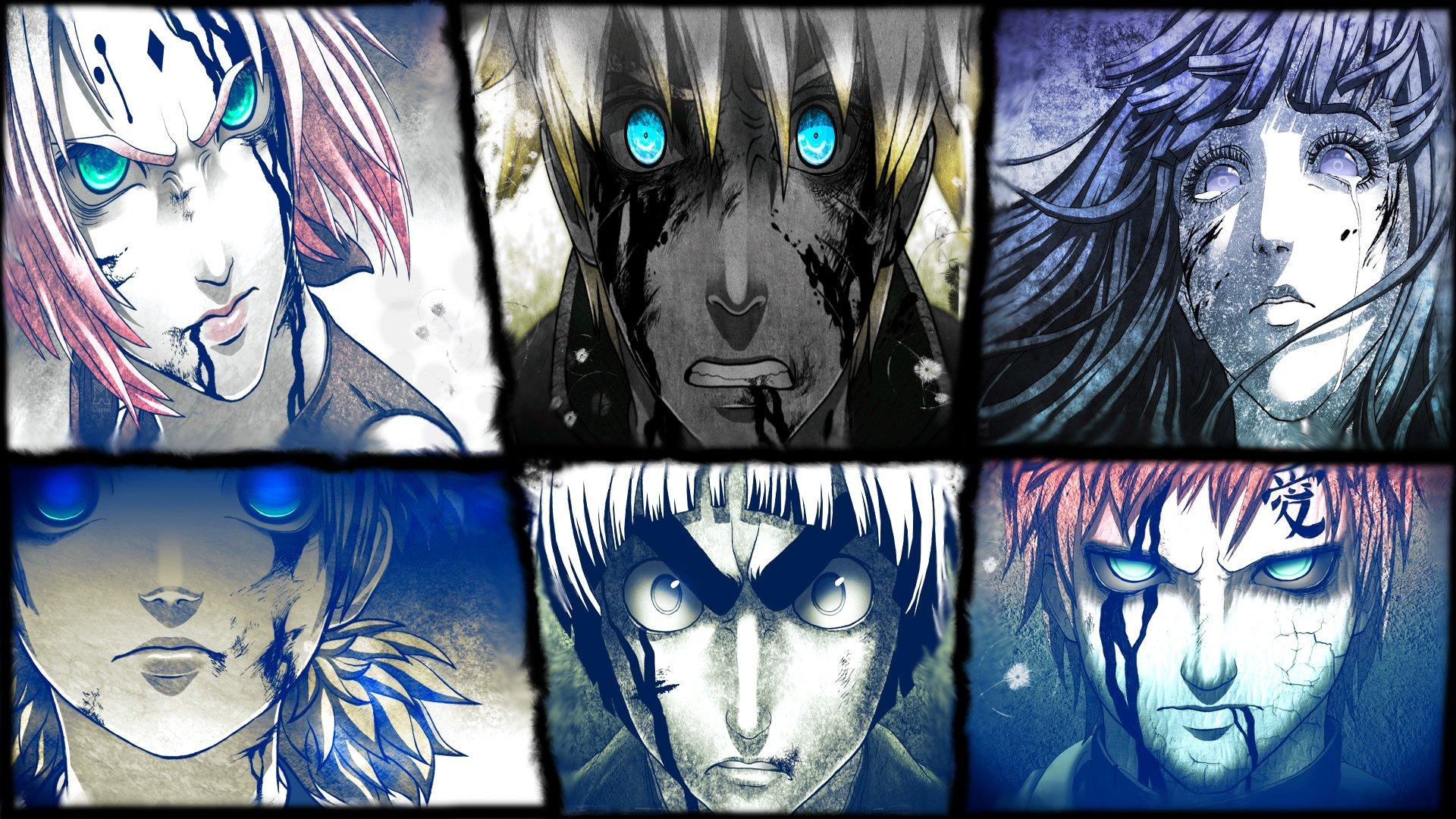 Kakashi Wallpaper Iphone Naruto Collage Fondo De Pantalla Hd Fondo De Escritorio