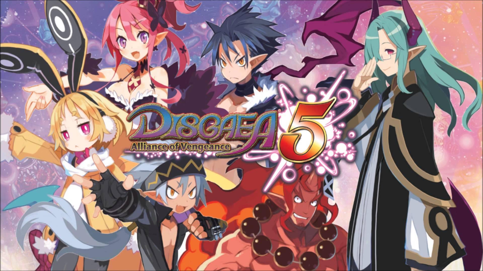 4 Disgaea 5 Alliance Of Vengeance HD Wallpapers