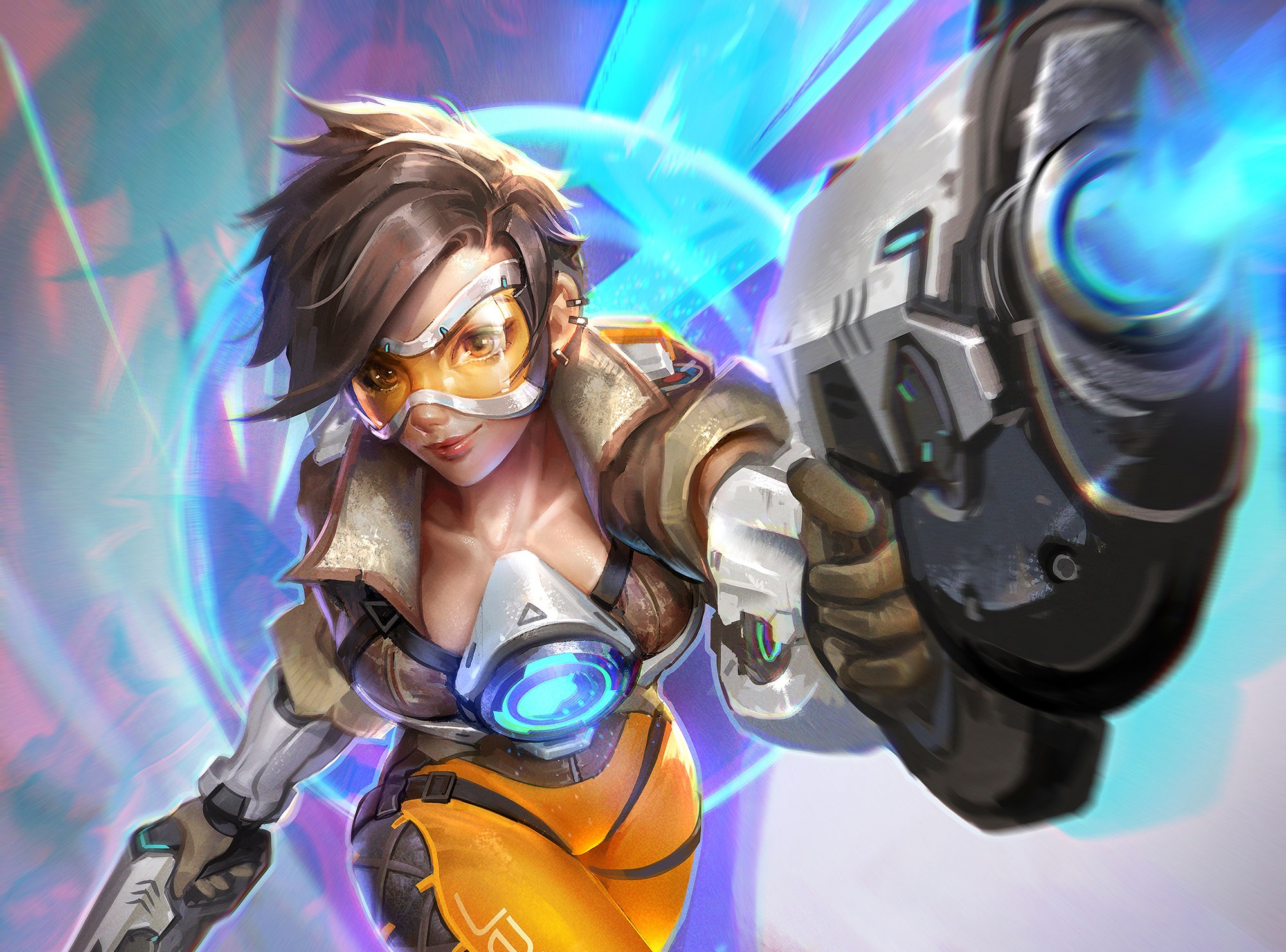 186 Tracer Overwatch HD Wallpapers Backgrounds