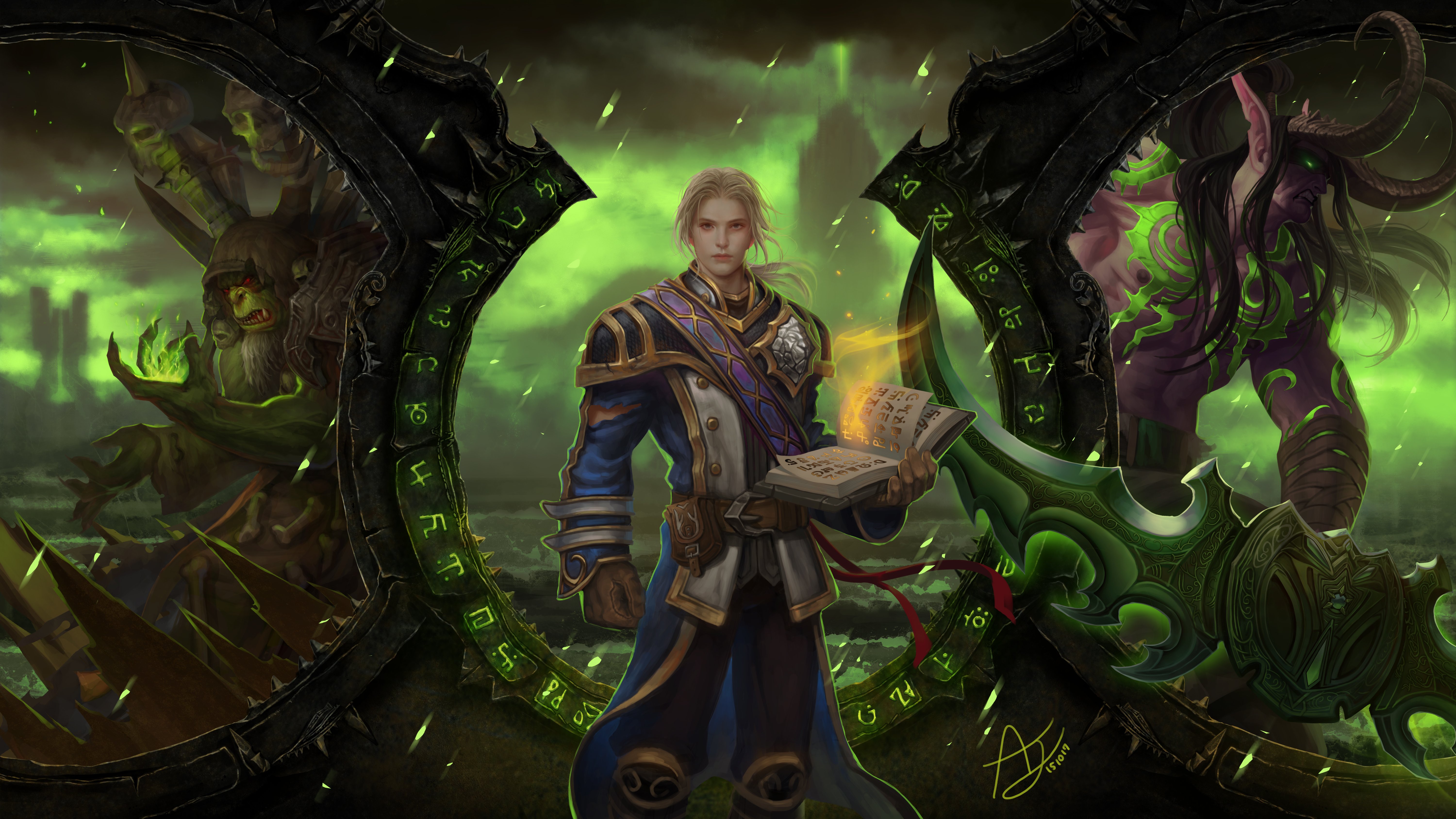 4 Gul'dan (World of Warcraft) HD Wallpapers | Background Images - Wallpaper Abyss
