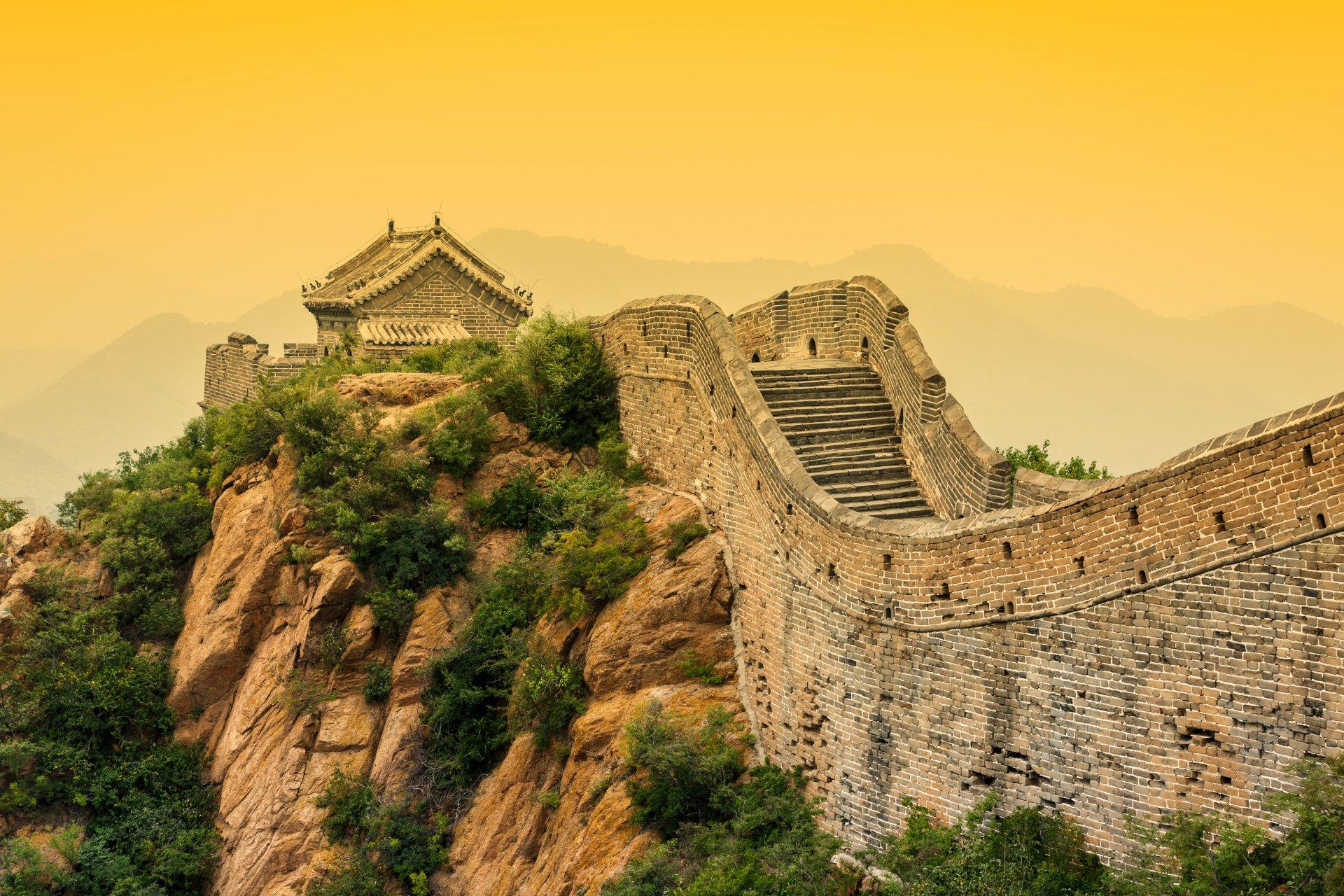 Great Wall Of China 5k Retina Ultra Hd Wallpaper