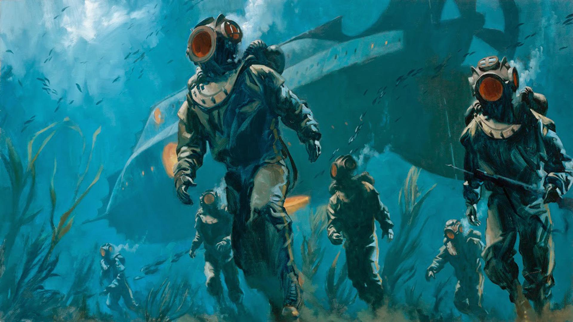 20 000 Leagues Under The Sea Hd Wallpaper