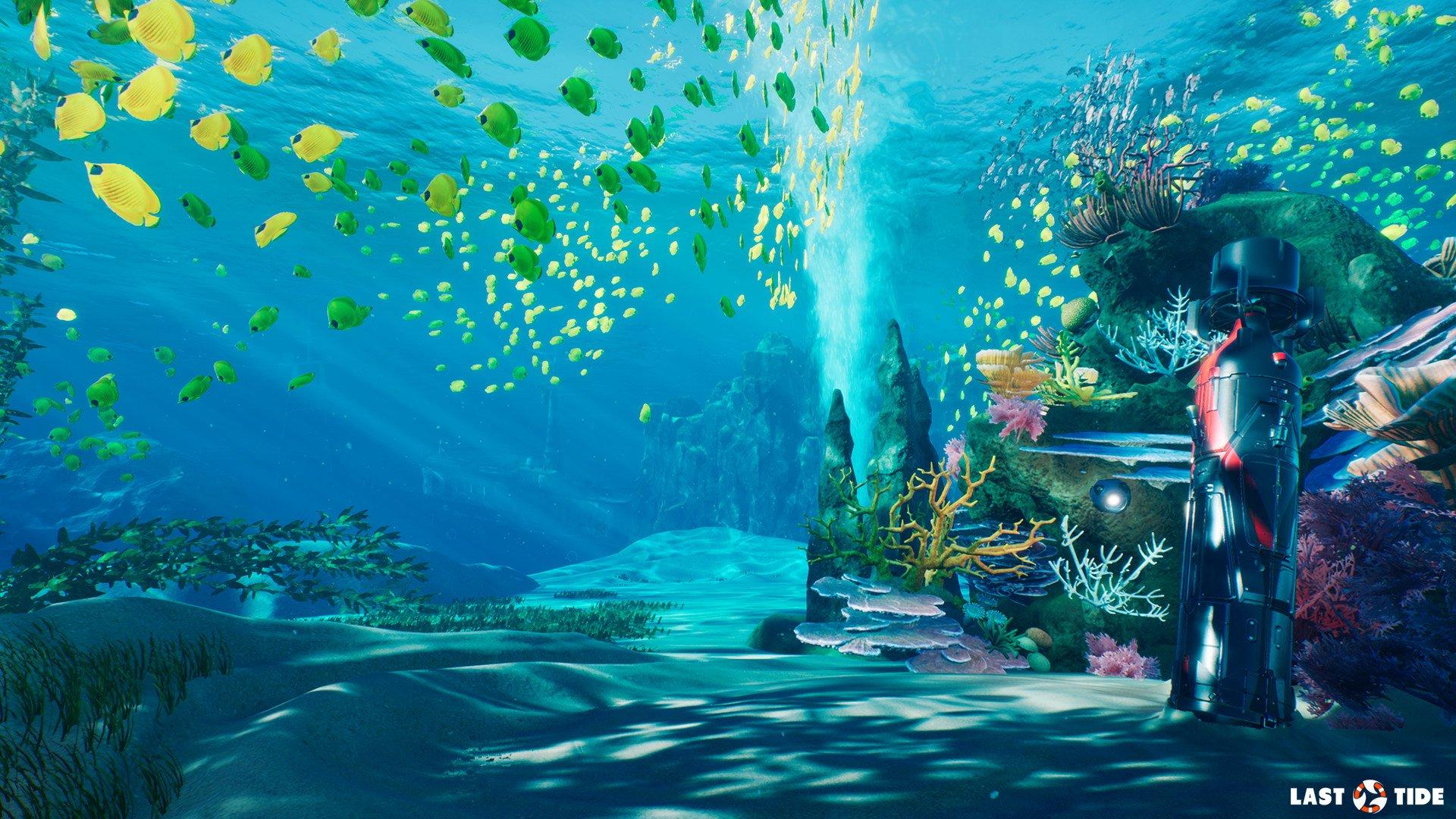 Fish Tank 3d Wallpaper Download Last Tide Aquatic Royale 2018 Hd Wallpaper Background