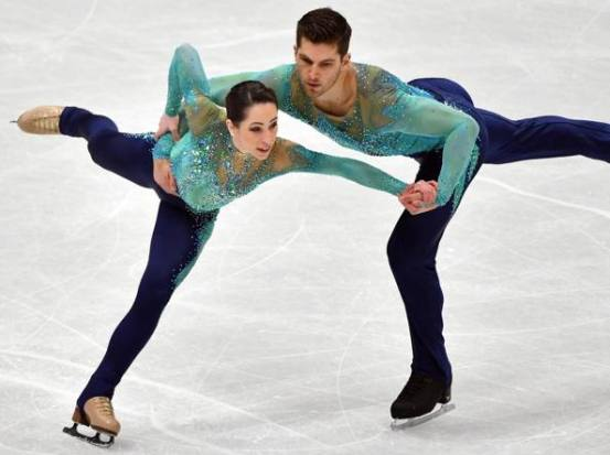 Ice Dancing - A to Z Challenge April