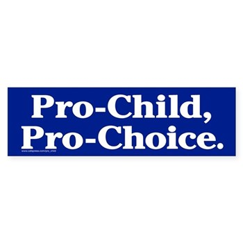 A bumper sticker from cafepress which is simple but true.