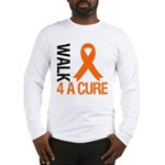 Walk4ACure Kidney Cancer Long Sleeve T-Shirt