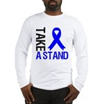 TakeAStandColonCancer Long Sleeve T-Shirt