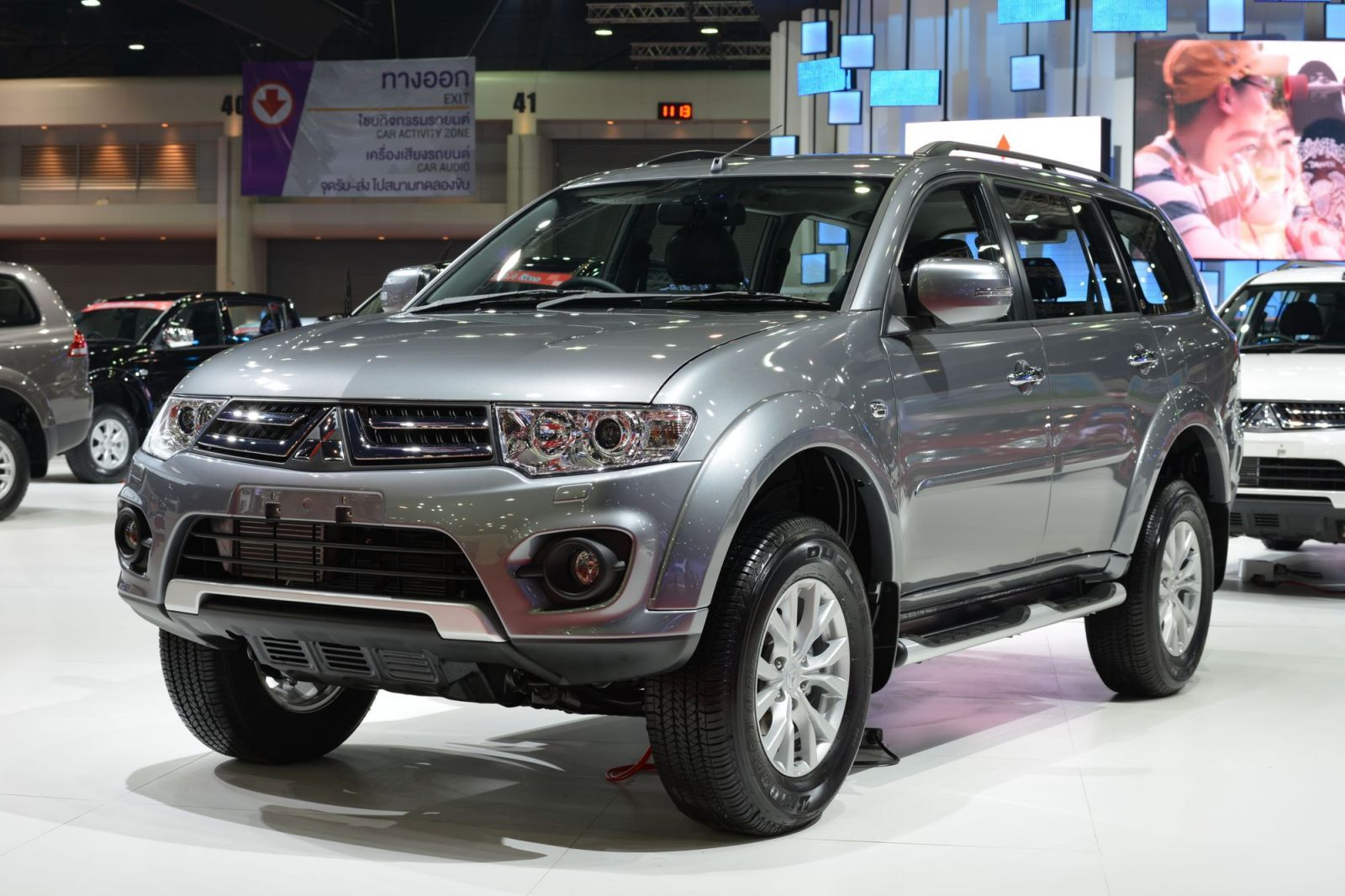 the montero sport inherits the attributes of the luxurious pajero