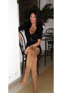 Gold Miss Sixty Necklaces, Tan Bershka Boots, Black Mayo ...