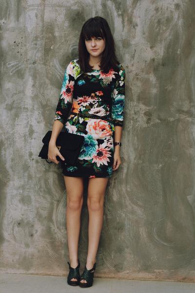 H M Floral Dress