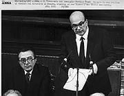 Andreotti e Craxi (Ansa)
