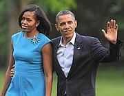 Obama con la moglie Michelle (Ap)