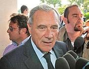 Pitero Grasso, procuratore nazionale antimafia (Ansa)