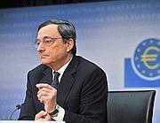 Il presidente della Bce, Mario Draghi (Imagoeconomica)