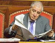 Il senatore Pdl Marcello Dell'Utri