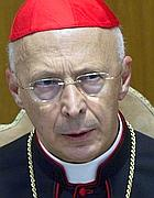 Il cardinale Angelo Bagnasco (Ansa)