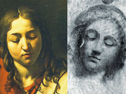 Comparazione tra i disegni e i dipinti: «Cena in Emmaus»