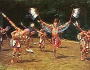 Una danza cherokee