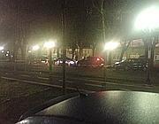 Il luogo dove è stata assassinata Donika Xhafa (Ansa/R. Maggio)