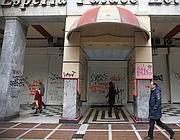 Negozi chiusi in Grecia (Epa)