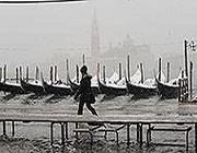 Neve a Venezia (Ansa)