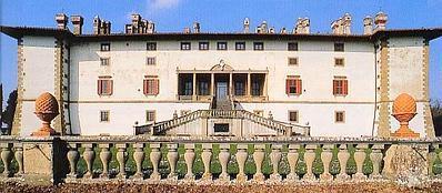 La villa di Artimino a Carmignano, Prato