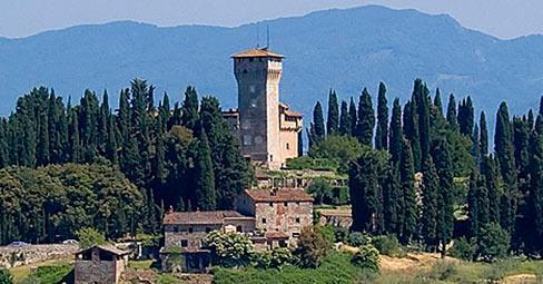 La villa di Cafaggiolo a Barberino di Mugello