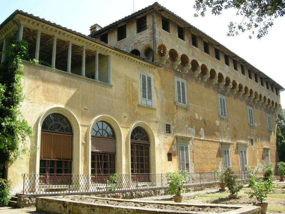 La villa di Trebbio a San Piero