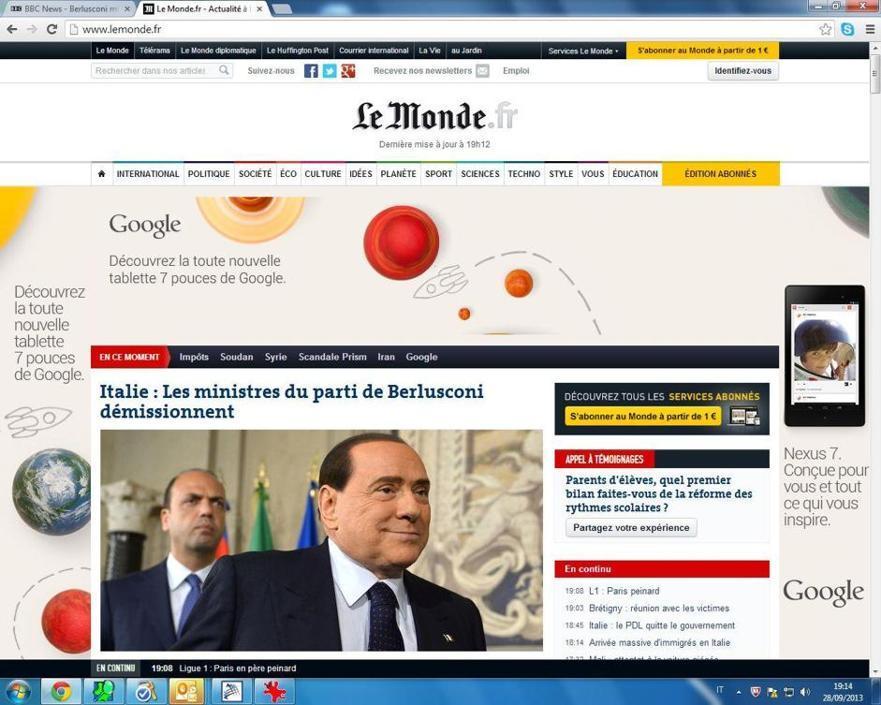 E per Le Monde