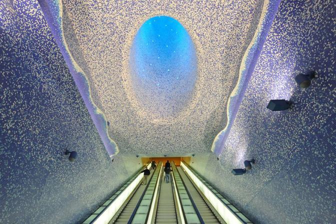 Le stazioni della metro pi belle dEuropa