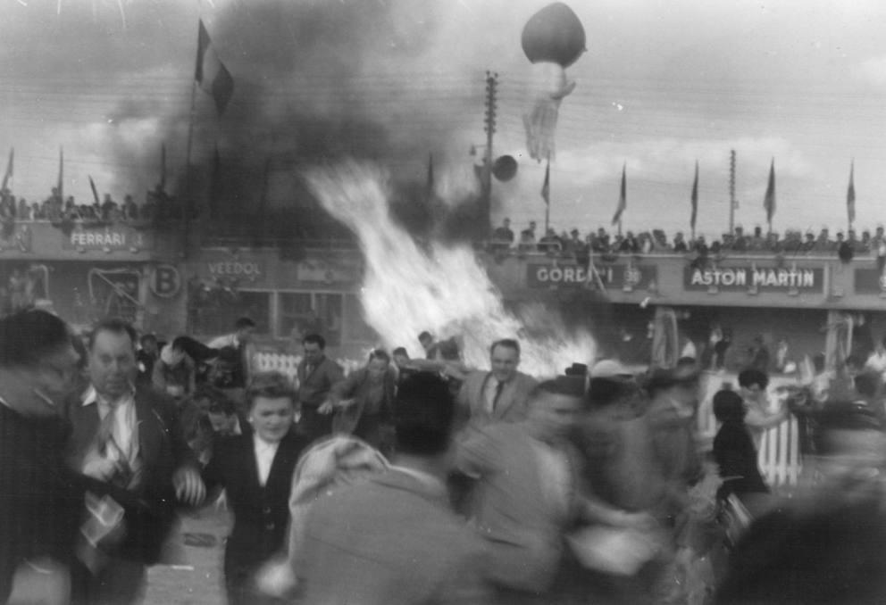 Le Mans 60 anni fa il pi grave incidente della storia