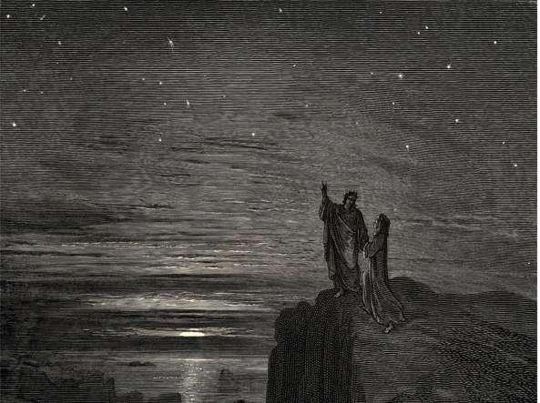 Risultati immagini per uscimmo a riveder le stelle