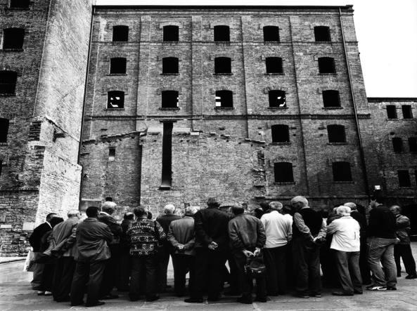 La risiera di San Sabba a Trieste (dal libro «Ci resta il nome» di Isabella Balena, Mazzotta, 2004)