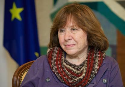 Svetlana Aleksievic premio Nobel per la Letteratura 2015