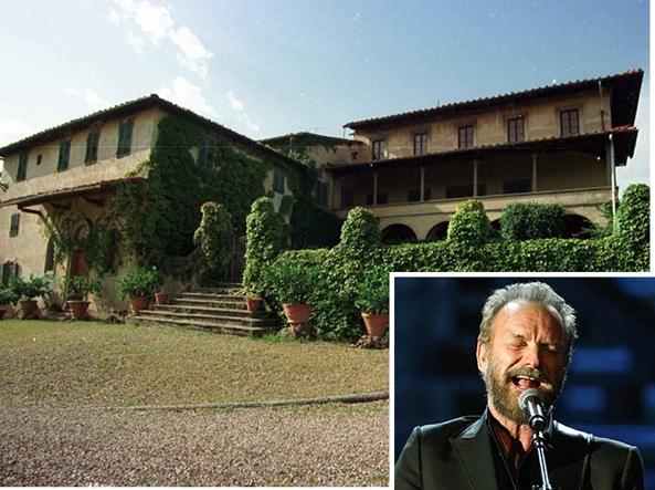 Sting difende la sua propriet toscana e incassa 4500 euro da Asl e Comune  Corriereit